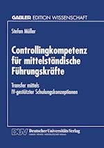 Controllingkompetenz Für Mittelständische Führungskräfte