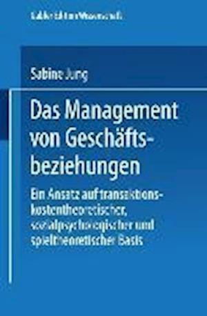 Das Management Von Geschäftsbeziehungen