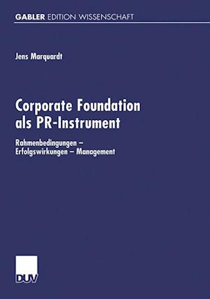 Corporate Foundation als PR-Instrument