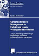 Corporate Finance Management Zur Etablierung Junger Wachstumsunternehmen (Strategie, Marketing Und Informationsmanagement)