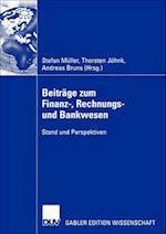 Beitrage zum Finanz-, Rechnungs- und Bankwesen af Stefan Muller