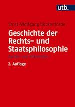 Geschichte Der Rechts- Und Staatsphilosophie af Ernst-Wolfgang Bockenforde