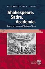 Shakespeare. Satire. Academia