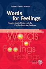 Words for Feelings af Hans-Jurgen Diller