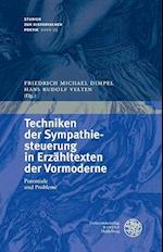 Techniken Der Sympathiesteuerung in Erzahltexten Der Vormoderne (Studien Zur Historischen Poetik, nr. 23)