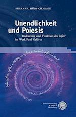 Unendlichkeit Und Poeisis (Neues Forum Fur Allgemeine Und Vergleichende Literaturwissen, nr. 53)