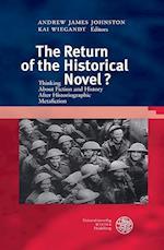 The Return of the Historical Novel? (Britannica Et Americana 3 Folge, nr. 33)