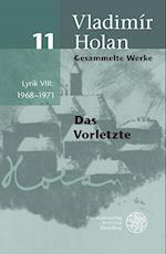 Gesammelte Werke / Lyrik VIII