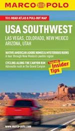 USA Southwest (Las Vegas, Colorado, New Mexico, Arizona, Utah) Guide (Marco Polo Guides)