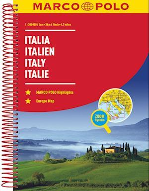 Italy Marco Polo Road Atlas