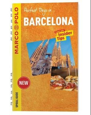 Barcelona Marco Polo Travel Guide - with pull out map