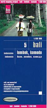 Bali, Lombok & Komodo, World Mapping Project (World Mapping Project)