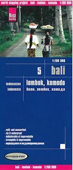 Bali, Lombok & Komodo, World Mapping Project (World Mapping Project)