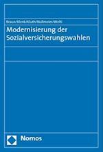 Modernisierung Der Sozialversicherungswahlen af Tanja Klenk, Winfried Kluth, Bernard Braun