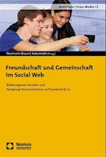 Freundschaft Und Gemeinschaft Im Social Web