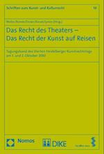 Das Recht Des Theaters - Das Recht Der Kunst Auf Reisen