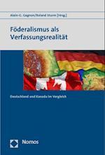 Foderalismus ALS Verfassungsrealitat