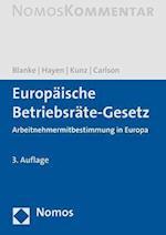 Europaische Betriebsrate-gesetz