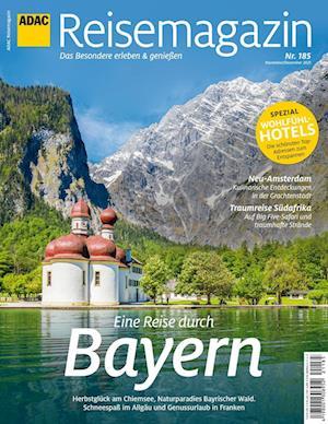 ADAC Reisemagazin 10/21 mit Titelthema Bayern