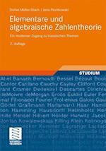 Elementare Und Algebraische Zahlentheorie af Stefan Muller-Stach, Jens Piontkowski, Stefan M. Ller-Stach