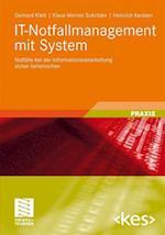 It-Notfallmanagement Mit System af Gerhard Klett, Klaus-Werner Schr Der, Heinrich Kersten