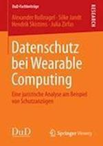 Datenschutz Bei Wearable Computing (Dud Fachbeitr GE, nr. 1)