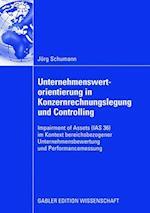Unternehmenswertorientierung in Konzernrechnungslegung Und Controlling