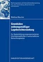 Grundsatze Ordnungsmaiger Lageberichterstattung (Rechnungswesen Und Unternehmens Berwachung)