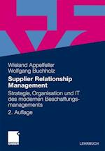 Supplier Relationship Management af Wolfgang Buchholz, Wieland Appelfeller