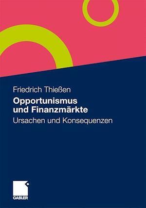 Opportunismus Und Finanzmärkte