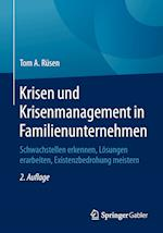 Krisen Und Krisenmanagement in Familienunternehmen af Tom A. Rusen