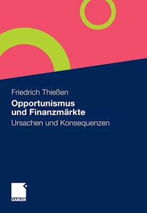 Opportunismus und Finanzmarkte
