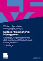 Supplier Relationship Management af Wolfgang Buchholz