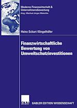 Finanzwirtschaftliche Bewertung Von Umweltschutzinvestitionen (Finanzwirtschaft Unternehmensbewertung Revisionswesen)