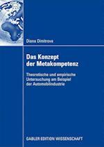 Das Konzept Der Metakompetenz af Diana Dimitrova
