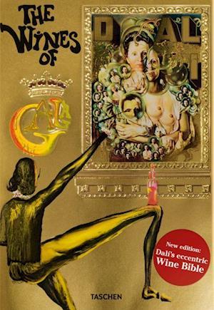 Bog hardback Dali the Wines of Gala af Hans Werner Holzwarth
