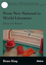 From New National to World Literature (Studies in World Literature)