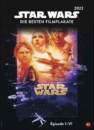 Star Wars Filmplakate Edition Kalender 2022