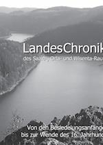 Landeschronika Des Saale-, Orla- Und Wisenta-Raumes af Alexander Blothner, Alexander Bl Thner