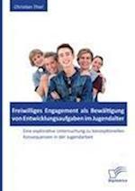 Freiwilliges Engagement ALS Bewaltigung Von Entwicklungsaufgaben Im Jugendalter af Christian Thiel