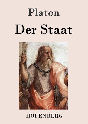 Bog paperback Der Staat af Platon
