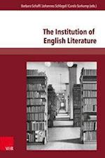 The Institution of English Literature