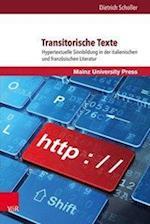 Transitorische Texte (Romanica, nr. 2)