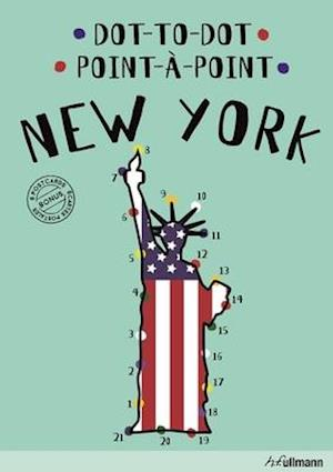 Bog, hardback Dot-To-Dot New York (English/French) af Agata Mazur
