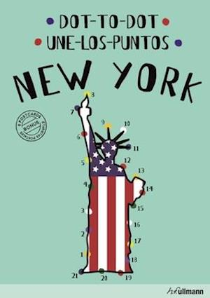 Bog, hardback Dot-To-Dot New York (English/Spanish) af Agata Mazur