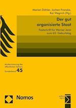 Der Gut Organisierte Staat af Jochen Franzke, Marian Dohler, Kai Wegrich