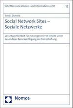 Social Network Sites - Soziale Netzwerke (Schriften Zum Medien Und Informationsrecht, nr. 15)