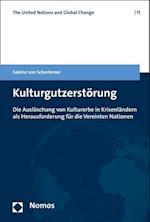 Kulturgutzerstorung (United Nations and Global Change, nr. 11)