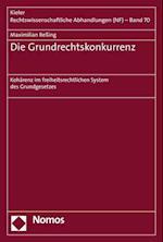 Die Grundrechtskonkurrenz (Kieler Rechtswissenschaftliche Abhandlungen, nr. 70)