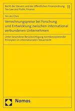 Verrechnungspreise Bei Forschung Und Entwicklung Zwischen International Verbundenen Unternehmen (Recht der Steuern Und der Offentlichen Finanzordnung Tax L, nr. 11)